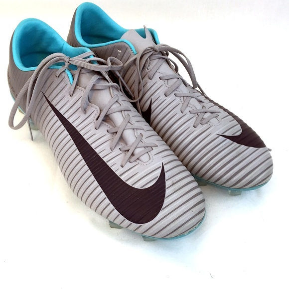 uk availability 2f04b be43a Nike Womens 8.5 Mercurial Veloce Blue Gray Cleats.  M_5b69ebb3c89e1de6df0372e6. Other Shoes ...